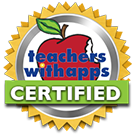 teachers with apps certified badge